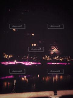 対岸から眺めた小倉城の写真・画像素材[867859]