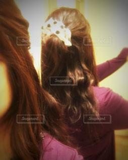 ♡ 私の お気に入りのヘアアレンジ ♡の写真・画像素材[867940]