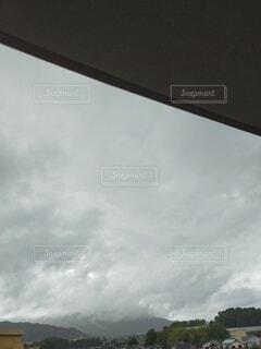 空,雨,屋外,雲