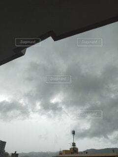 空,屋外,雲,くもり,雨雲