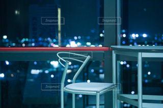 クロスランドおやべの夜景の写真・画像素材[800977]