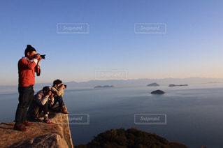 崖の上から‼️の写真・画像素材[1321358]