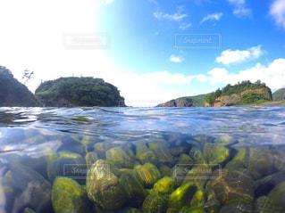 水の体の写真・画像素材[1385906]