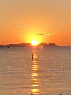 自然,風景,海,太陽,初日の出