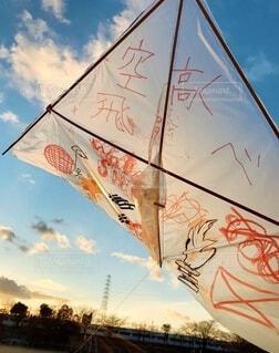 みんなの想いを乗せて空高く飛べ!!の写真・画像素材[4660463]
