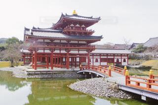 風景,空,屋外,京都,神社,水面,旅行,建築,パゴダ,ラマ寺