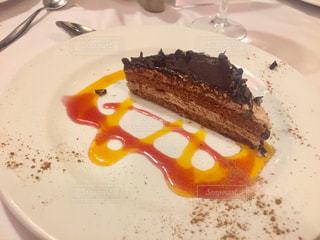 ケーキ,茶色,デザート,スペイン,チョコ