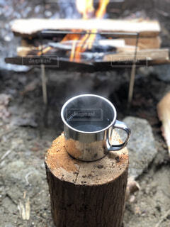 コーヒー,キャンプ,焚き火,ソロキャンプ