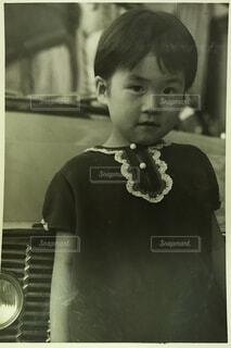 子ども,風景,人物,人,幼児,ポートレート,テキスト,町角,昭和39年,人間の顔