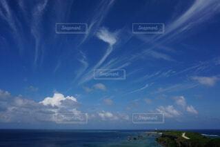 自然,風景,海,空,雲,灯台,宮古島