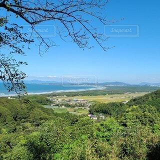 自然,風景,海,空,屋外,緑,雲,青空,海岸,山,草,丘,樹木,草木,眺め,山腹