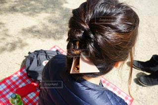 髪型の写真・画像素材[405776]