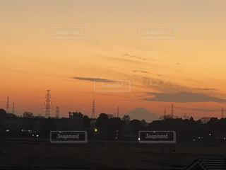空,屋外,雲,夕暮れ,日の出