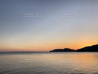 自然,風景,海,空,屋外,湖,ビーチ,水面,山,日の出