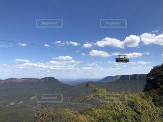 自然,空,屋外,雲,山,丘,ケーブルカー,ブルーマウンテン,バック グラウンド