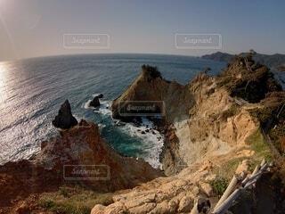 自然,風景,海,空,絶景,屋外,ビーチ,水面,海岸,山,観光,岩,馬