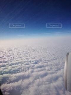 空,雲,飛行機,飛ぶ,空中,空の旅