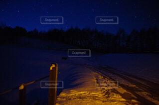 風景,空,冬,夜,雪,屋外