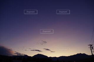 自然,風景,空,屋外,太陽,雲,夕暮れ,山