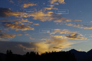 自然,風景,空,屋外,雲,夕暮れ,くもり