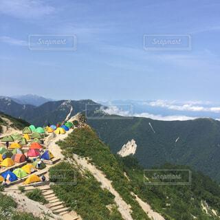 山の眺めの写真・画像素材[4565347]