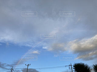 空の雲の群の写真・画像素材[4480685]