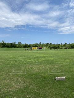 サッカートレーニングマッチの写真・画像素材[4529574]