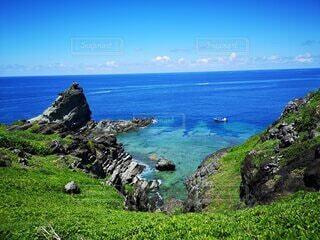 自然,風景,海,空,屋外,湖,ビーチ,雲,島,水面,山,草,丘,岩,岬