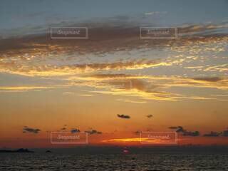 自然,風景,海,空,屋外,湖,太陽,ビーチ,雲,夕暮れ,水面,夜明け,日の出
