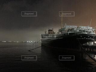 空,夜,屋外,雲,ボート,船,水面,霧,クルーズ,車両,水上バイク