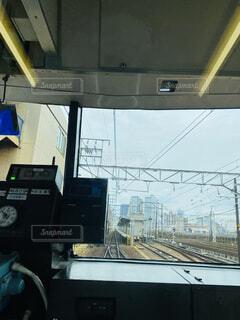 名鉄電車の車窓の写真・画像素材[4552073]