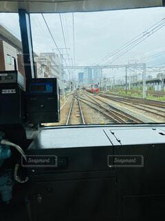 名鉄電車の車窓の写真・画像素材[4552072]