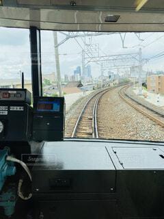 名鉄の車窓の写真・画像素材[4552069]