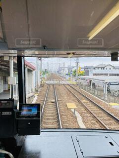 名鉄電車の車窓の写真・画像素材[4552075]