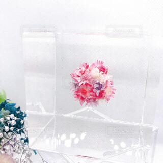 花,ハンドメイド,プリザーブドフラワー,クリスタルアートリウム