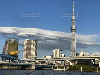 空,建物,屋外,雲,タワー,都会,高層ビル