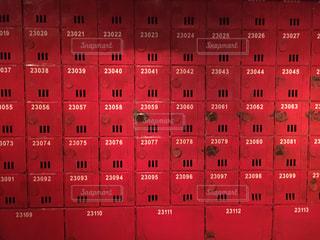 香港の赤いロッカー - No.772596