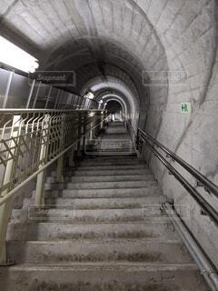 建物,屋内,階段,トンネル,坂,廃墟,放棄