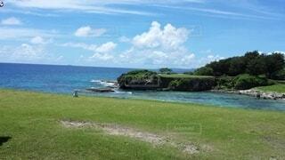 自然,風景,海,空,屋外,雲,ゴルフ,グアム,ゴルフ場,マンギラオゴルフ