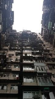 建物,屋外,高層ビル,アパート,香港,ロケ地,映画