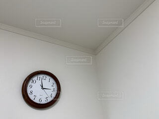 お部屋,屋内,時計,壁,シンプル,3時,壁時計,15時,ウォールクロック,3時前