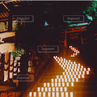 毎年楽しみのなら燈花会の写真・画像素材[4570305]