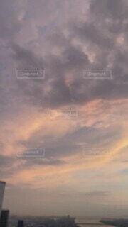 自然,風景,空,屋外,雲,きれい,夕焼け,夕暮れ,景色