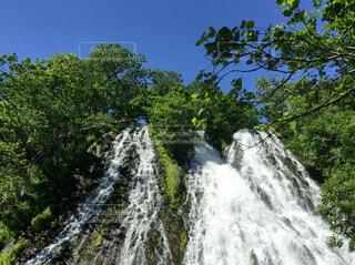 自然,森林,屋外,青空,水面,滝,樹木,休日,マイナスイオン,気持ちいい