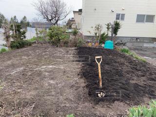 スコップ,畑,農作業,手作業,野菜作り