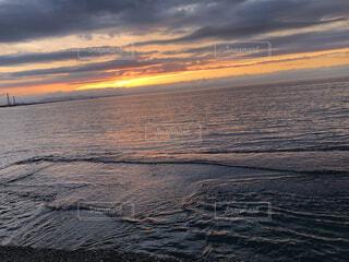海,夕暮れ