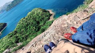 風景,海,絶景,山,絶壁から見る景色