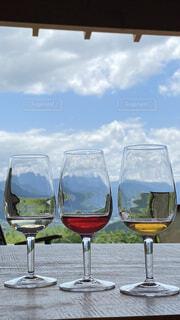 風景,空,ガラス,食器,ワイン,カクテル,ドリンク,シャンパングラス,ワイングラス