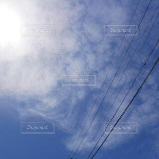 風景,空,春,屋外,白,雲,光,電線,投稿,くもり,景観,日中
