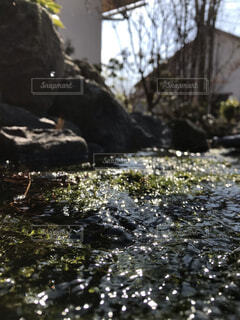 屋外,水,波,川,光,岩,河,投稿,景観